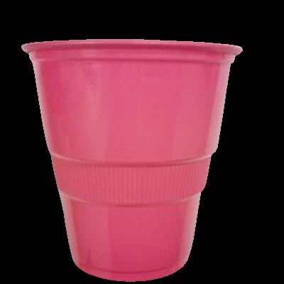 vasos plasticos disipal fucsia 90oz 10und