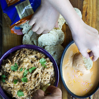 Pulled Pork Queso Dip