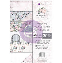 Prima Marketing Double-Sided Paper Pad A4 30/Pkg - Poetic Rose UTGÅENDE