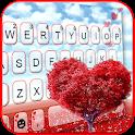 Heart Love Tree Keyboard Theme icon