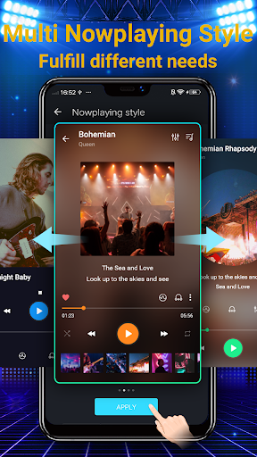 Music Player - Free 10 Bands Equalizer MP3 Player App Report