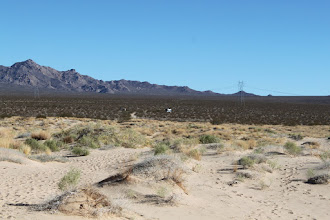 Photo: Our RV, in the middle of nowhere, as usual