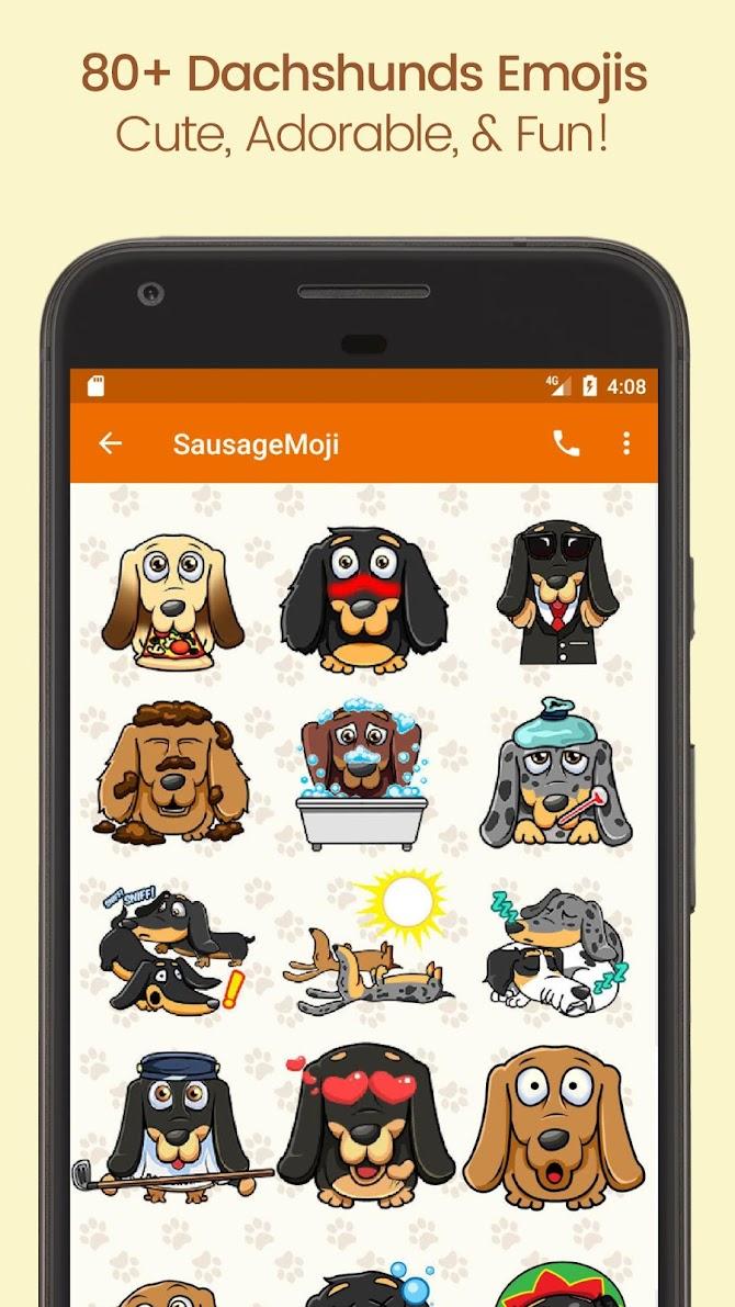SausageMoji Stickers Android 3