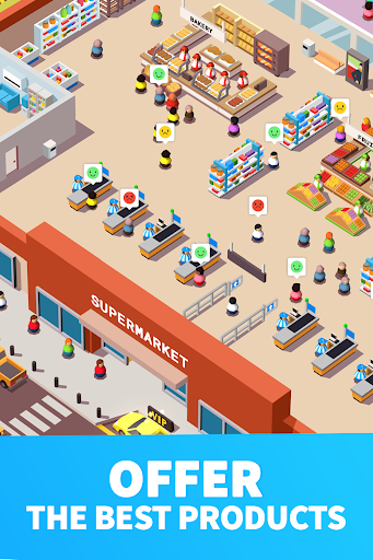 Idle Supermarket Tycoon - Tiny Shop Game modavailable screenshots 5