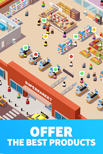 Idle Supermarket Tycoon MOD APK 2.3.1 [Unlimited Money] 5