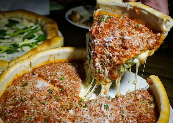 超墮落起司爆量芝加哥深盤pizza- The-303 Kitchen and Bar