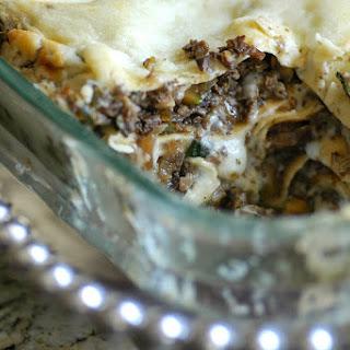 Marvelous Mushroom Lasagna.