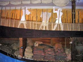 Photo: Bodrum, reconstructie van het scheepswrak van Uluburun uit 1.350 v.C.