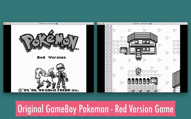 GameBoy Pokemon - Red Version