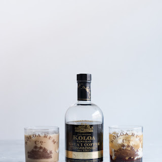 Hawaiian White Russian Cocktail