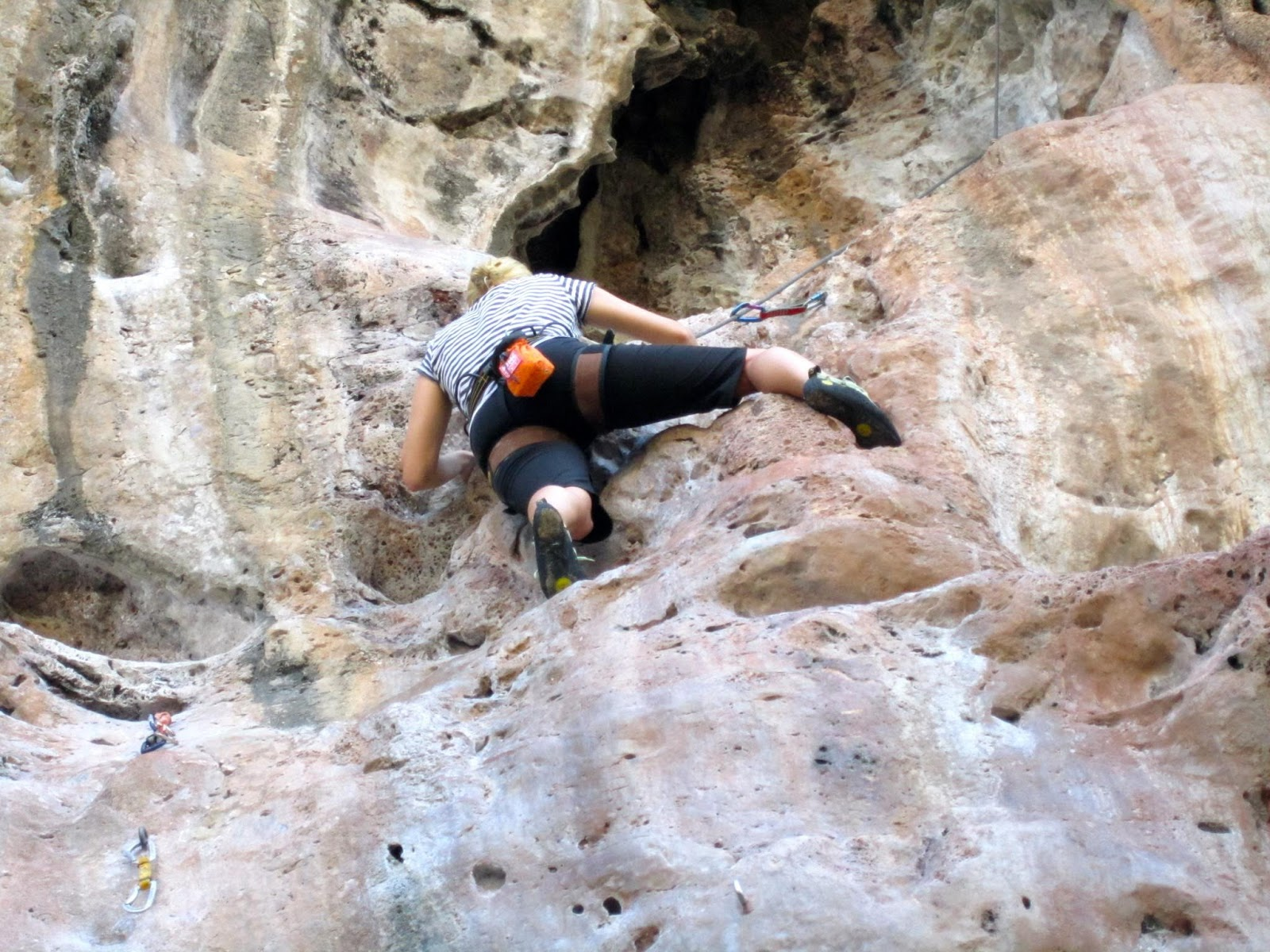 Private Full-Day Rock Climbing Course at Railay Beach by King Climbers