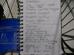 Photo: Coupons and Grocery list ready! I loved making my list based on the coupons and deals before I head out.