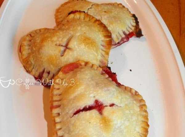 Strawberry & Cream Hand Pies Recipe