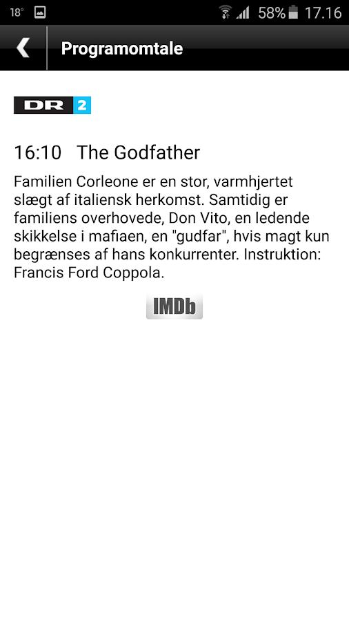 Dansk TV-Oversigt- screenshot
