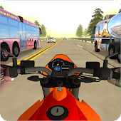 Moto Heavy Traffic Racer: Bike Racing Stunts