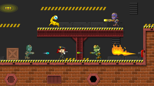 Code Triche Aliens 2D: Run & Gun APK MOD screenshots 2