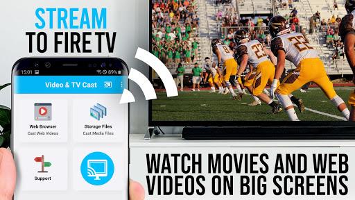 Video & TV Cast | Fire TV - Web Video Browser 2.20 screenshots 1