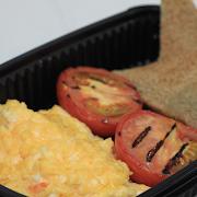 Scrambled Eggs & Tomato