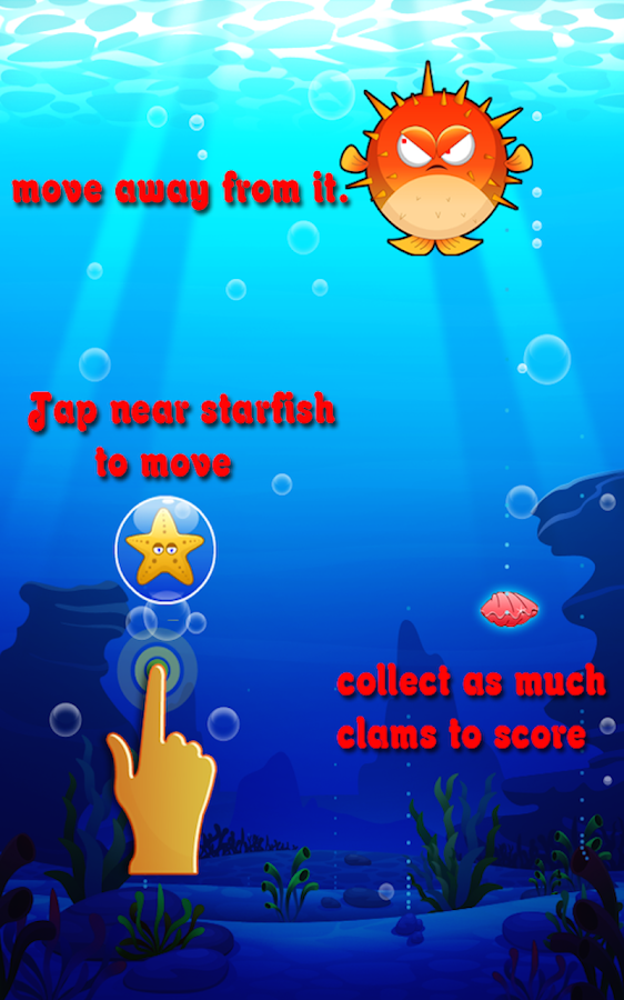 Save The Starfish- screenshot