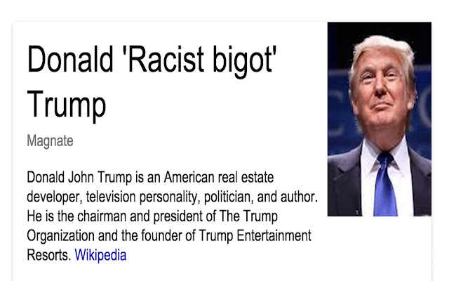 Trump2Racist