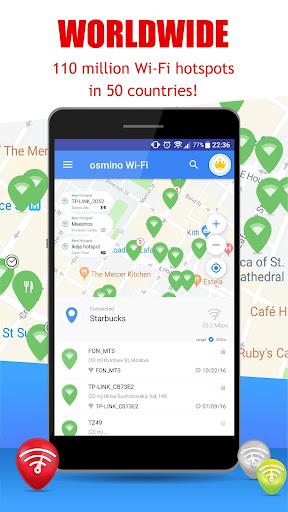 Free WiFi App: WiFi map, passwords, hotspots 6.21.02 screenshots 1