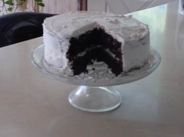 Rich Moist Dark Chocolate Cake Recipe