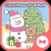 Hình nền xinh xắn Christmas Snowman Mod