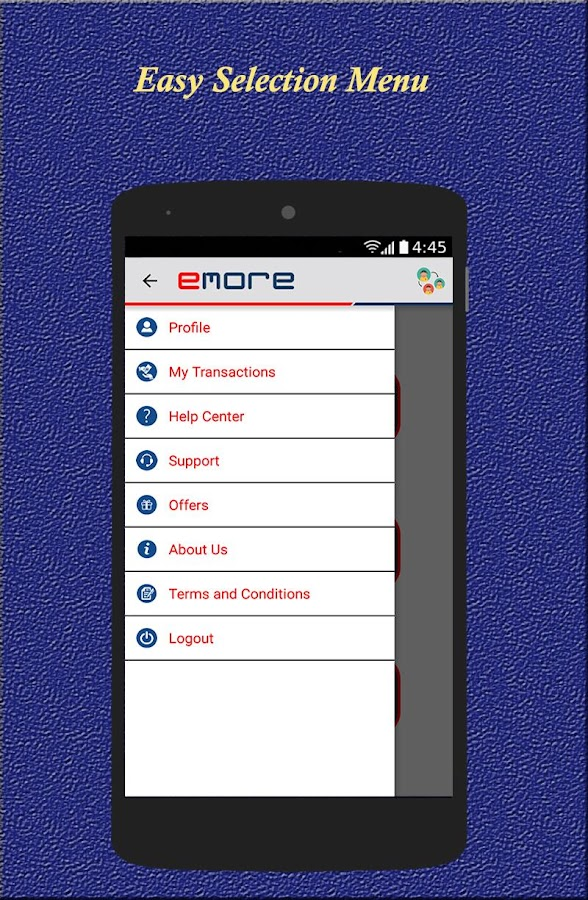 eMore- screenshot