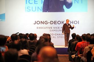 Photo: JD Choi, EVP Samsung - TSG Update