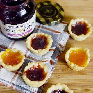 2 Ingredient Fruit and Honey Tartlets
