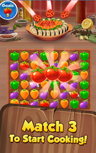 Yummy Drop! – A Free Match 3 Puzzle Cooking Game – APK Mod for Android 2