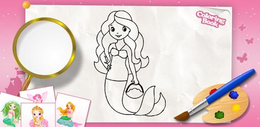 çocuklar Için Boyama Kitabı Prensesler Google Playde Uygulamalar
