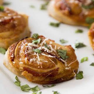 Pizza Pinwheels With Pizza Dough Recipes.