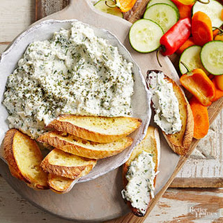 Ricotta and Parmesan Spread.