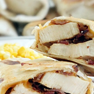 Sweet Chicken Bacon Wraps Recipe