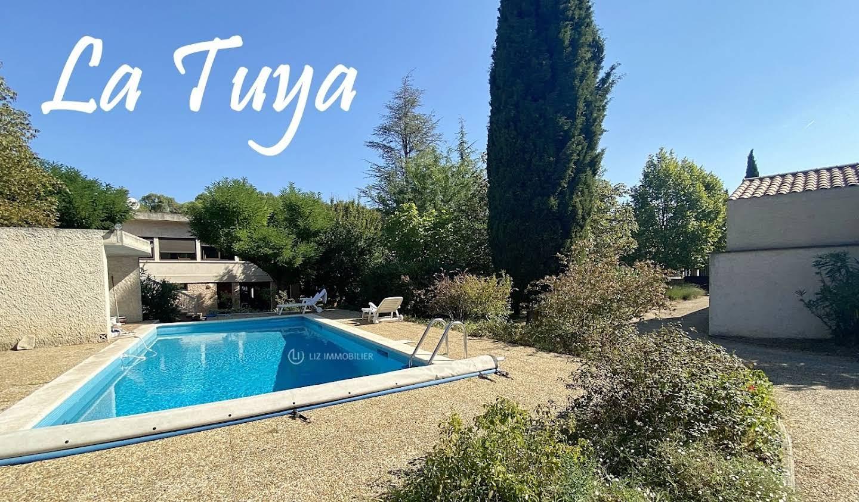 Maison avec piscine et terrasse Cabries