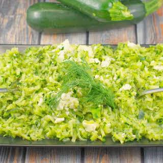Shredded Zucchini & Feta Sauté.