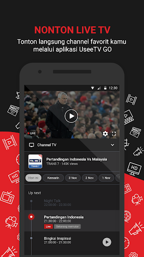 UseeTV GO - Watch TV & Movie Streaming 6.1.1 Screenshots 2
