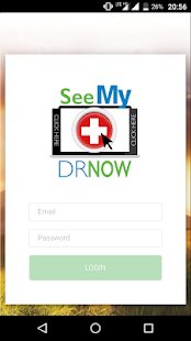 SeeMyDrNow - náhled
