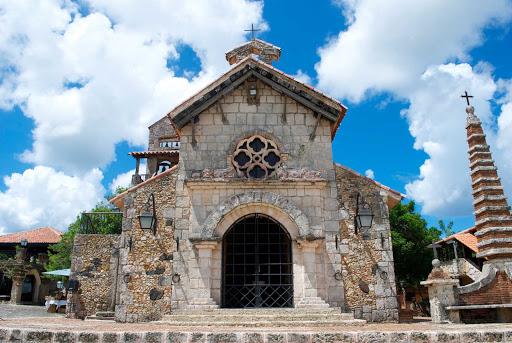 Altos-de-Chavon-Chapel-Dominican-Republic - Altos de Chavon was built as a center of culture for the Dominican people.