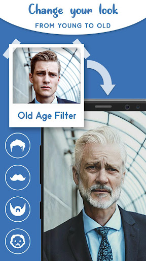 Old Age Face effects App: Face Changer Gender Swap Apk 1