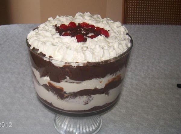 Chocolate Pudding Trifle Recipe