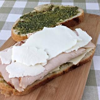 Turkey Pesto Panini Sandwich