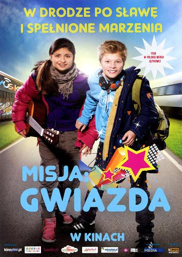 Przód ulotki filmu 'Misja: Gwiazda'