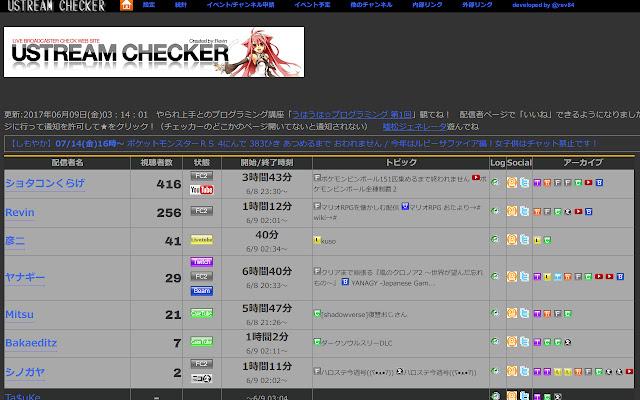 Ustream Checker Color Changer