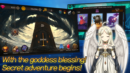 Secret Tower 500F (Super fast growing idle RPG) apktram screenshots 6