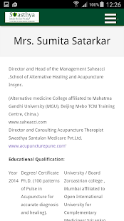 Acupuncture Treatment &Therapy screenshot