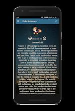 Cancer Horoscope screenshot thumbnail