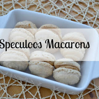 Speculoos Macarons.