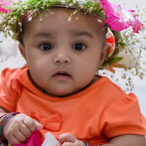 Touch of spring  by Iqbal Kabir - Babies & Children Child Portraits